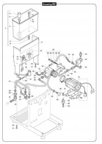 ecm mechanika iv profi technika wassertank mit rotationspumpe. Black Bedroom Furniture Sets. Home Design Ideas