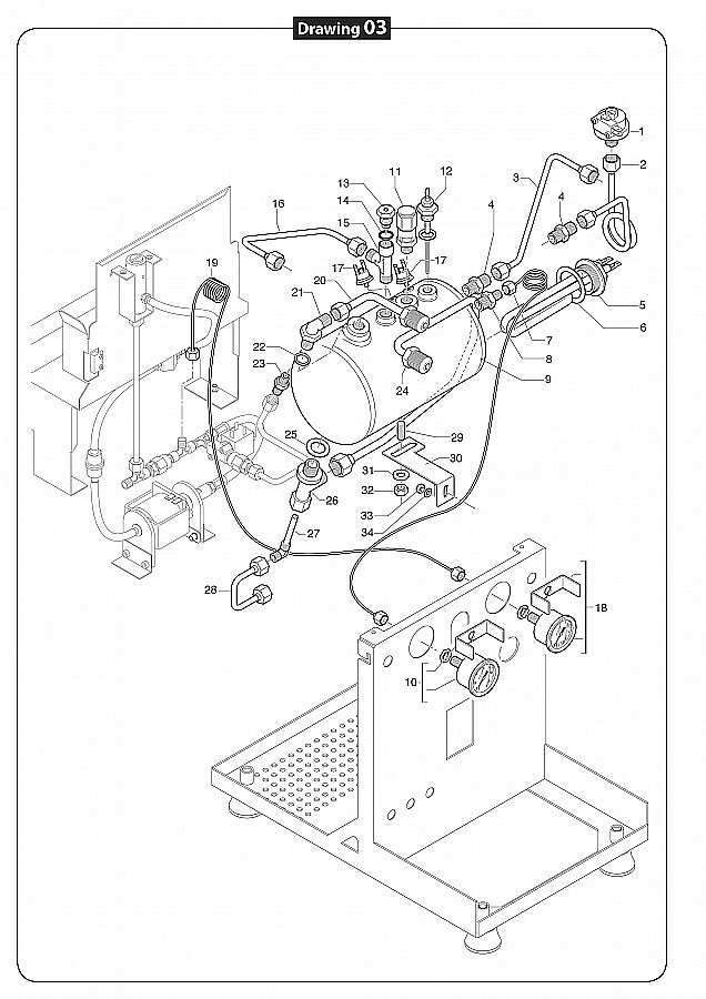 grafik Quick Mill Espresso Machine Wiring Diagram on