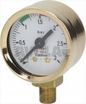 Manometer für Kessel ø 42 mm 0÷3 Bar