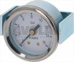 Manometer Pumpe ø 39 mm 0÷16 Bar