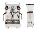 Bundle Setangebot Espressomaschine ECM  Mechanika V Slim + Kaffeemühle C-manuale 54